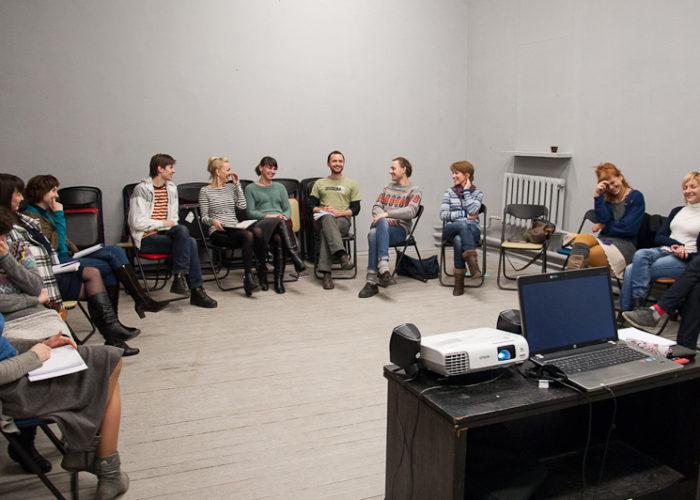 Мастер-класс в Школе Арт-Лидера