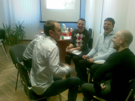 Trainings Maeva 2012 2